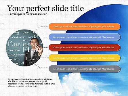 Startup Process Presentation Concept, Slide 7, 03991, Presentation Templates — PoweredTemplate.com