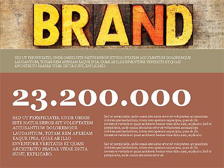 Presentation Templates: Branding Präsentationskonzept #03993