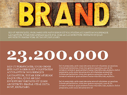 Presentation Templates: Branding Presentation Concept #03993