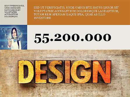 Branding Presentation Concept, Slide 4, 03993, Presentation Templates — PoweredTemplate.com