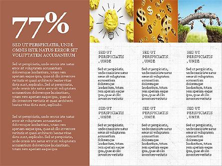 Branding Presentation Concept, Slide 6, 03993, Presentation Templates — PoweredTemplate.com