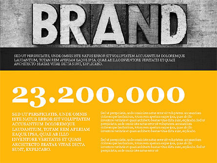 Branding Presentation Concept, Slide 9, 03993, Presentation Templates — PoweredTemplate.com