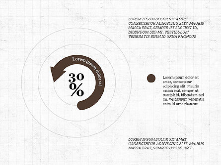 Circular Infographics, 03995, Process Diagrams — PoweredTemplate.com
