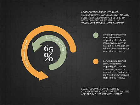 Circular Infographics, Slide 12, 03995, Process Diagrams — PoweredTemplate.com