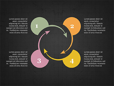 Circular Infographics, Slide 15, 03995, Process Diagrams — PoweredTemplate.com