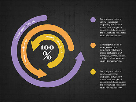 Circular Infographics, Slide 16, 03995, Process Diagrams — PoweredTemplate.com