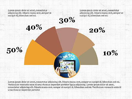 Circular Infographics, Slide 2, 03995, Process Diagrams — PoweredTemplate.com