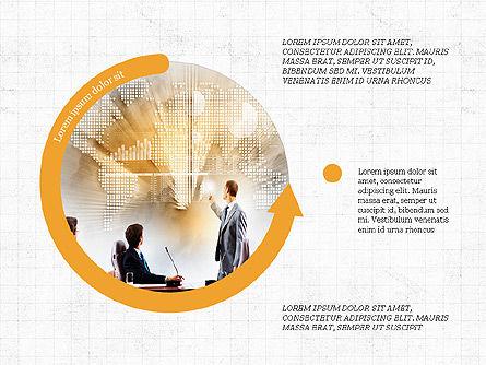Circular Infographics, Slide 3, 03995, Process Diagrams — PoweredTemplate.com