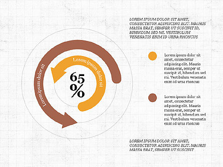 Circular Infographics, Slide 4, 03995, Process Diagrams — PoweredTemplate.com