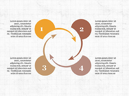 Circular Infographics, Slide 7, 03995, Process Diagrams — PoweredTemplate.com