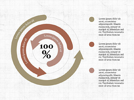 Circular Infographics, Slide 8, 03995, Process Diagrams — PoweredTemplate.com