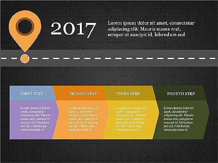 Roadmap Concept Presentation Template, Slide 10, 03996, Business Models — PoweredTemplate.com