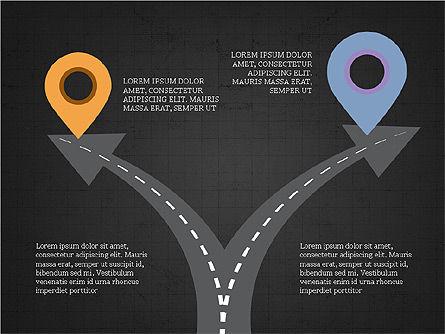 Roadmap Concept Presentation Template, Slide 11, 03996, Business Models — PoweredTemplate.com