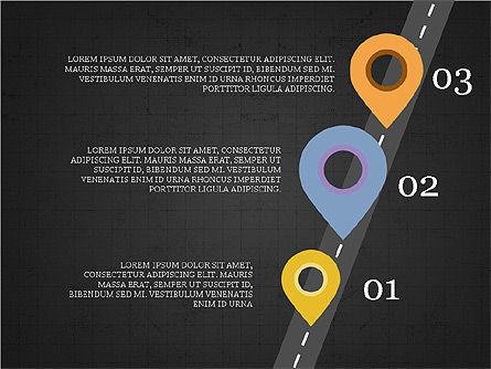 Roadmap Concept Presentation Template, Slide 12, 03996, Business Models — PoweredTemplate.com