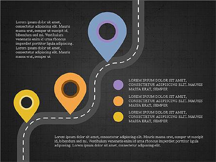 Roadmap Concept Presentation Template, Slide 14, 03996, Business Models — PoweredTemplate.com
