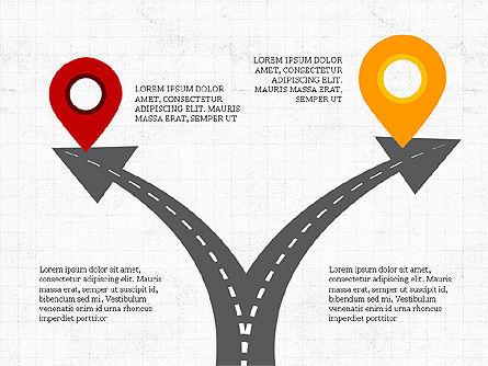 Roadmap Concept Presentation Template, Slide 3, 03996, Business Models — PoweredTemplate.com