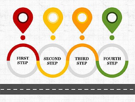 Roadmap Concept Presentation Template, Slide 5, 03996, Business Models — PoweredTemplate.com