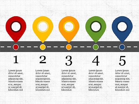 Roadmap Concept Presentation Template, Slide 8, 03996, Business Models — PoweredTemplate.com