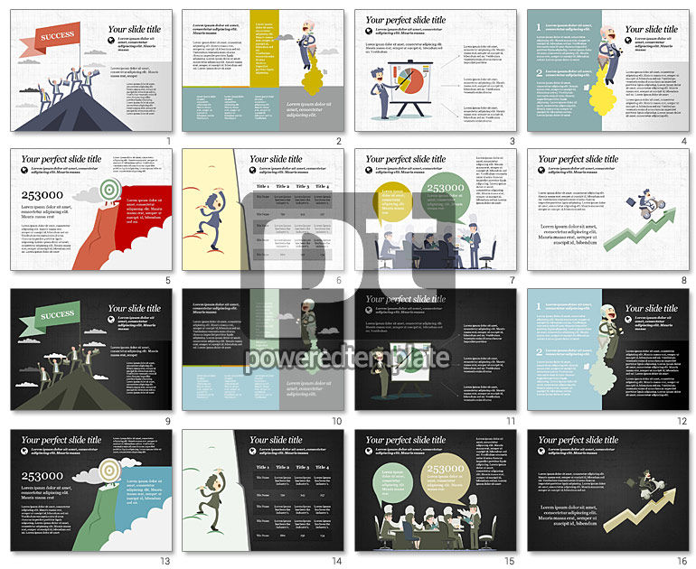 Moving to Success Presentation Template