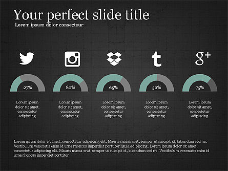 Social Media Presentation Concept Slide 10