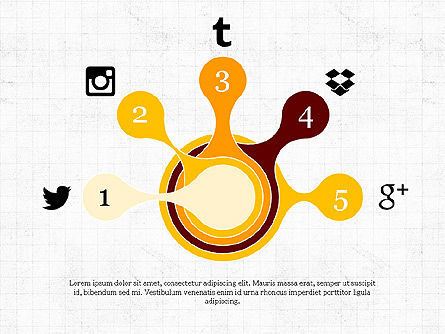 Social Media Presentation Concept, Slide 4, 03999, Presentation Templates — PoweredTemplate.com