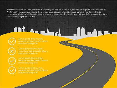 Product Roadmap Slide Deck, Slide 14, 04002, Business Models — PoweredTemplate.com