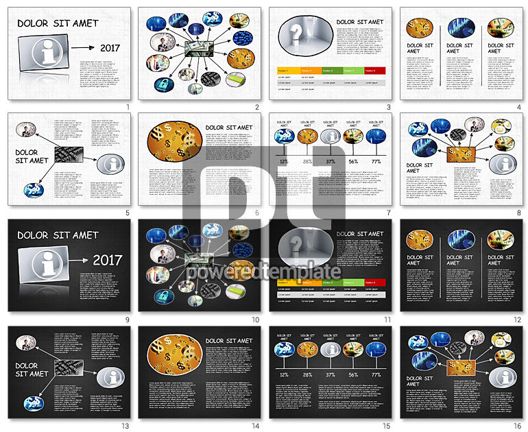 Mind Map Presentation Concept