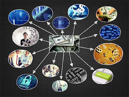 Mind Map Presentation Concept, Slide 10, 04003, Business Models — PoweredTemplate.com