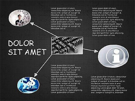 Mind Map Presentation Concept, Slide 13, 04003, Business Models — PoweredTemplate.com