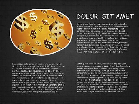 Mind Map Presentation Concept, Slide 14, 04003, Business Models — PoweredTemplate.com