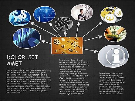Mind Map Presentation Concept, Slide 16, 04003, Business Models — PoweredTemplate.com