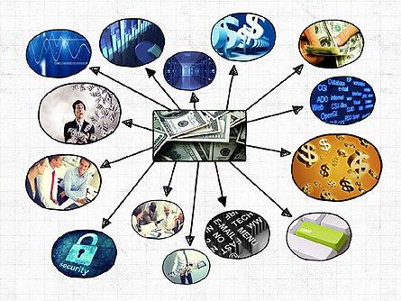 Mind Map Presentation Concept, Slide 2, 04003, Business Models — PoweredTemplate.com