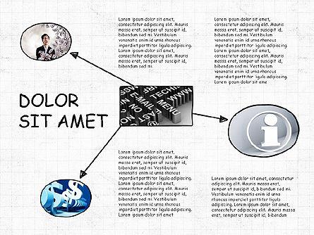 Mind Map Presentation Concept, Slide 5, 04003, Business Models — PoweredTemplate.com