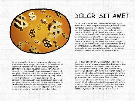 Mind Map Presentation Concept, Slide 6, 04003, Business Models — PoweredTemplate.com