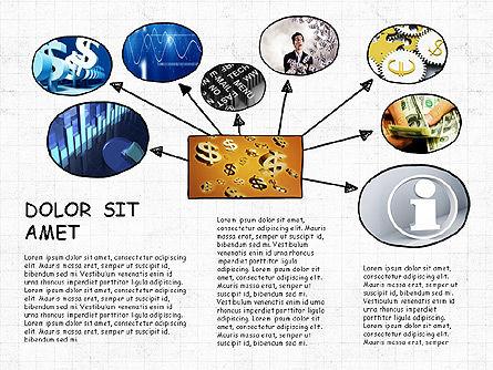 Mind Map Presentation Concept, Slide 8, 04003, Business Models — PoweredTemplate.com