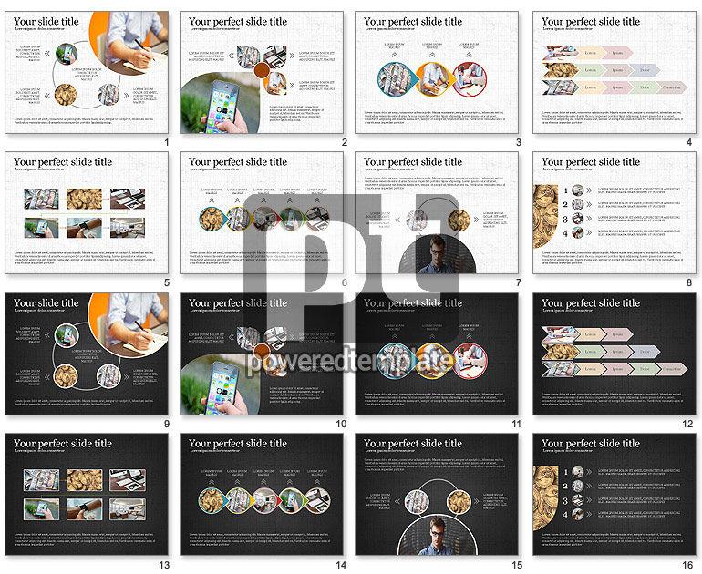 Financial Process Presentation Concept
