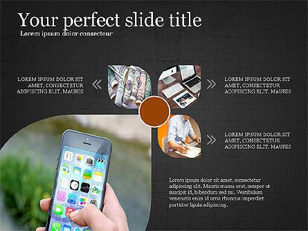 Financial Process Presentation Concept, Slide 10, 04004, Process Diagrams — PoweredTemplate.com