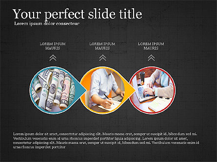 Financial Process Presentation Concept, Slide 11, 04004, Process Diagrams — PoweredTemplate.com