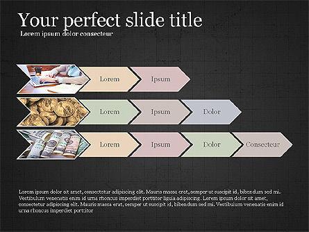 Financial Process Presentation Concept, Slide 12, 04004, Process Diagrams — PoweredTemplate.com