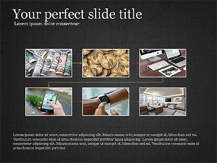 Financial Process Presentation Concept, Slide 13, 04004, Process Diagrams — PoweredTemplate.com