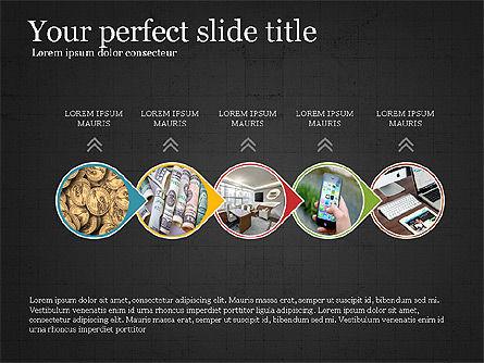 Financial Process Presentation Concept, Slide 14, 04004, Process Diagrams — PoweredTemplate.com