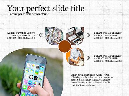 Financial Process Presentation Concept, Slide 2, 04004, Process Diagrams — PoweredTemplate.com