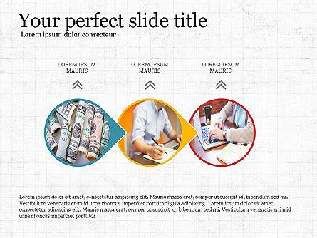 Financial Process Presentation Concept, Slide 3, 04004, Process Diagrams — PoweredTemplate.com
