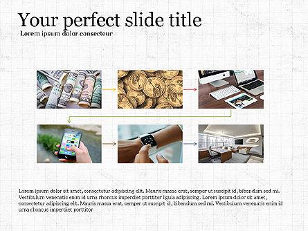 Financial Process Presentation Concept, Slide 5, 04004, Process Diagrams — PoweredTemplate.com