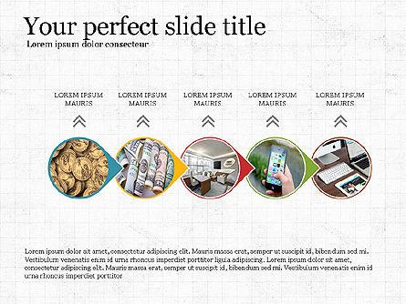 Financial Process Presentation Concept, Slide 6, 04004, Process Diagrams — PoweredTemplate.com