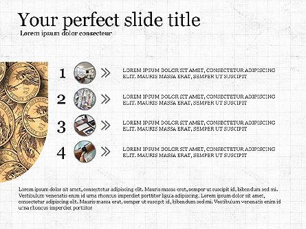 Financial Process Presentation Concept, Slide 8, 04004, Process Diagrams — PoweredTemplate.com