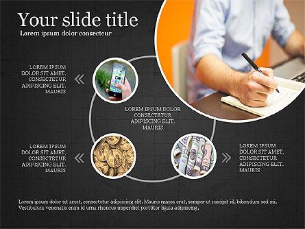 Financial Process Presentation Concept, Slide 9, 04004, Process Diagrams — PoweredTemplate.com