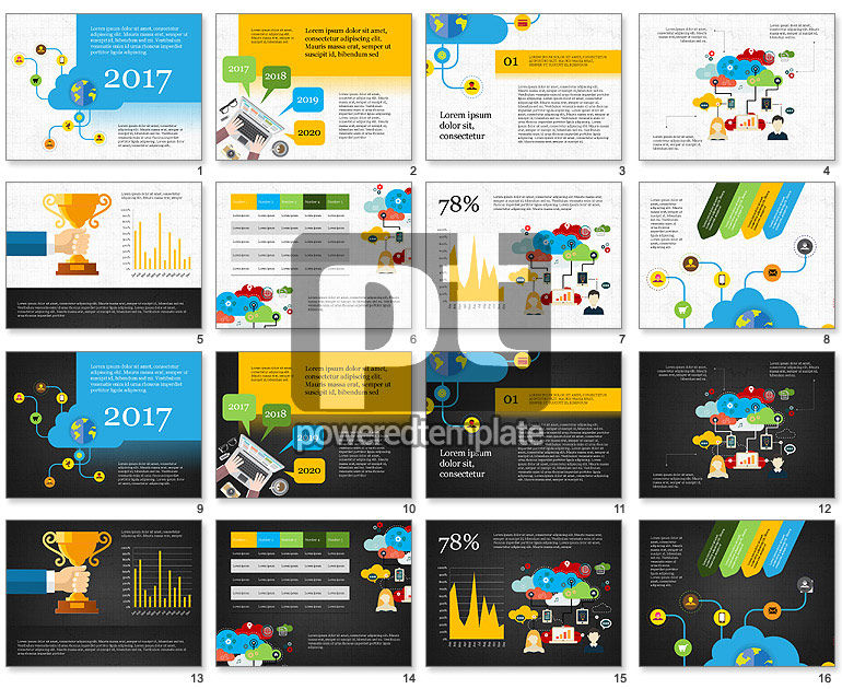 Cloud Services Presentation Template
