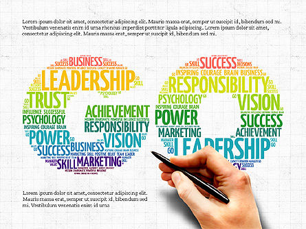 Business Related Word Clouds Set, Slide 2, 04007, Business Models — PoweredTemplate.com
