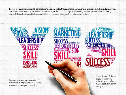 Business Related Word Clouds Set, Slide 4, 04007, Business Models — PoweredTemplate.com